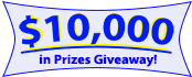 Check Who Called New Logo $10,000 in Prizes Giveaway Banner